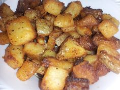 Crispy Oven Roasted Parmesan Potatoes Recipe from MyIncredibleRecipes.com