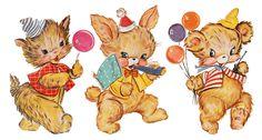 vintag ilustr, vintageretro thing, birthday imag, cartel vintag, birthday clip, vintag imag