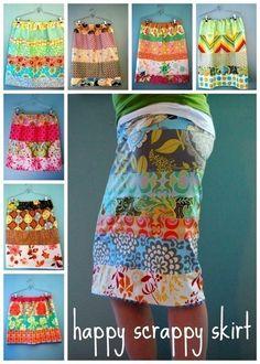 DIY skirt pattern