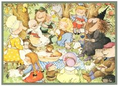 From: EACH PEACH PEAR PLUM by Janet and Alan Ahlberg