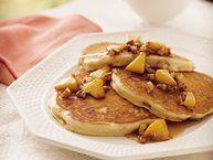Applesauce Pancakes Recipe from Betty Crocker