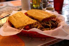 """A hidden gem in the form of a Cuban sandwich shop. The best Miami secret."" – SJP | A Day in Her Shoes"