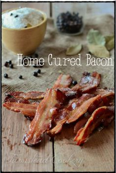 Home Cured  Smoked Bacon- SO much better than store bought  so easy  to do! | www.farmsteadcookery.com