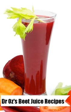 Dr Oz Beet Juice, Beet Smoothie and Beet Popsicle Recipes