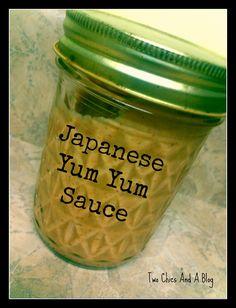 Japanese Yum Yum Sauce Recipe