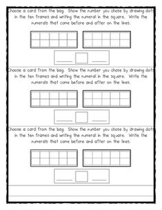 Back to School Math Journal Prompts; 30 pgs.  These prompts are great for the beginning of the year for Kindergarten and first grade. The prompts cover a wide variety of skills. The skills covered are:   number sense, number writing,   fair shares, patterning,shapes,   ten frames, addition, subtraction and some questions that require higher level thinking.   visit my blog for lots of teaching ideas and downloads. Deanna Jump