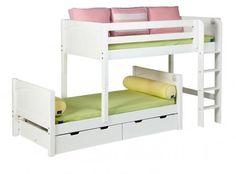 Low Loft Bed On Pinterest Low Loft Beds Loft Bunk Beds