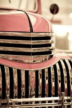 Old Pink Chevy