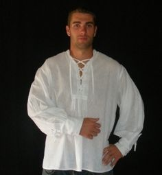 Great Medieval Wedding Shirt!