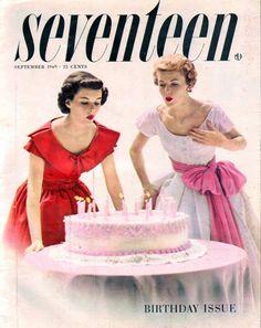 Seventeen Magazine / Cover / September 1949