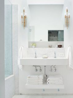 Minimize for a small bathroom