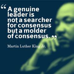 #MLK #Quote #Leadership