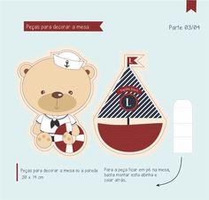 festa infantil urso marinheiro