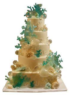 Sugar Coral Cake by tineypics, via Flickr