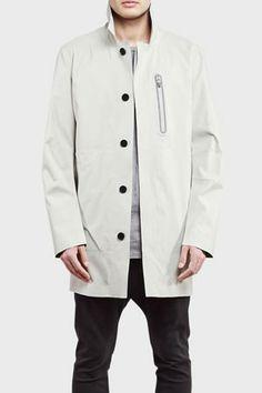 ISAORA Mac Coat White