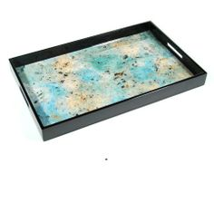 InStyle-Decor.com Gift Boxed Luxury Blue Tray $245 Highest Quality Wooden Designs, Perfect Blue Coffee Table Tray, Blue Ottoman Tray, Blue Serving Tray, Blue Breakfast Tray, Blue Vanity Tray, Blue Dressing Table Tray, Blue Desk Tray, Blue Drinks Tray, Blue Cocktail Tray, Part of Set Matching Blue Trays & Blue Gift Boxes, Check Out Our On Line Store for Over 3,500 Luxury Designer Furniture, Lighting, Decor & Gift Inspirations, Enjoy