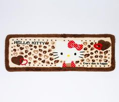 Hello Kitty Long Floor Mat: Bow