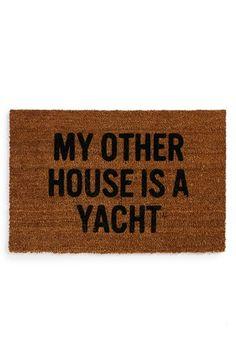 Reed Wilson Design 'Yacht' Doormat | Nordstrom
