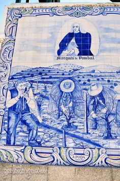 Peso da Régua, PortugalAzulejos Along The Douro Railway Posted on August 25, 2014 by Gail Aguiar (Gail at Large)