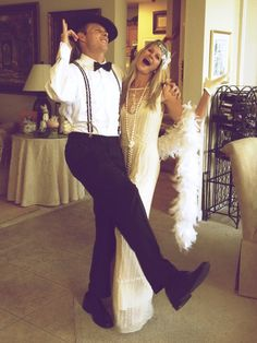 Great Gatsby Roaring 20's party costume
