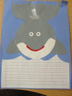 Shark writing! Nonfiction writing ideas