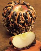 A fresh take on a traditional gift: Giant Caramel Apples