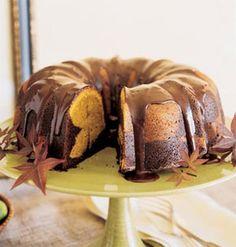 ~Pumpkin & Chocolate Bundt Cake~