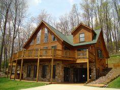 lake houses, bucket list, sweet, rustic homes, logs, dream homes, hous idea, log houses, dream houses