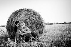 I could see my husband an I doing this after he is done cutting a field of round bales.
