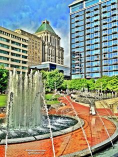 Downtown Greensboro   Center City Park   200 N Elm St, Greensboro, NC 27401