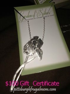 Enter to #Win $100 Gift Certificate to the #Garden of #Silver #Shopping