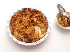 Get our easy recipe for doughnut bread pudding!