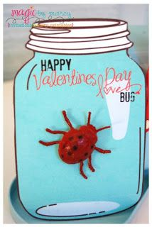 Lots of cute Valentine's Day cards for kids!