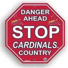 We're Talkin' BASEBALLi  Baseball in St. LOU!  We. Are. Cardinal. Nation.  AMEN!