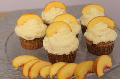 Spiked Peach Cupcake Recipe