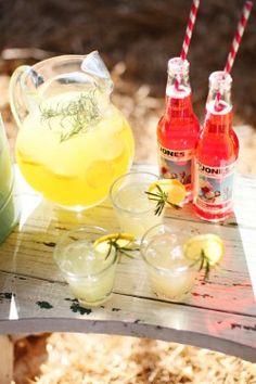lemonade and Jones soda :)