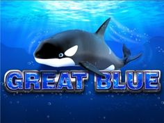 Great blue slot game is a fabulous video slot machine by Playtech, you can win up to 33 free spins with a crazy X15 multiplier and a max payout of 10,000.    Play online now! http://www.onlineslotgames4u.com/play/great-blue-slot-game/