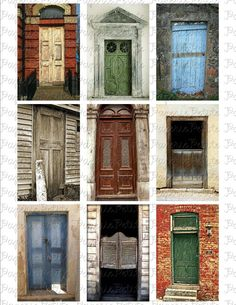 Another collage of doors