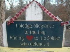 Sign for the home. Love my soldier.