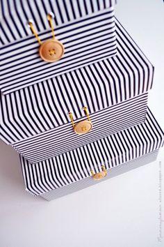 Get organized: Upcycled Shoe Boxes