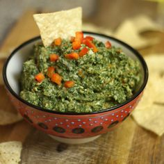 dairy free spinach and artichoke dip