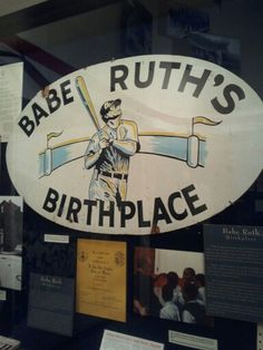 Babe Ruth Birthplace and Sports Legends Museums