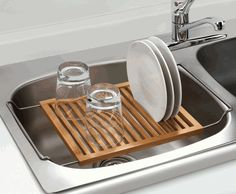 Dish drying rack. because believe it or not, i do not have a dish drying rack or a dishwasher. :(