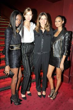 From the Vionnet dinner to the Balmain after-party, see the insider party photos from PFW.
