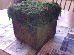 Minecraft Realistic Grass Block.