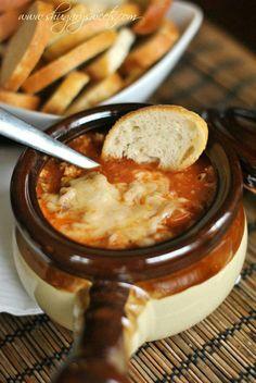 Lasagna soup!