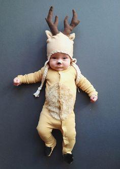 Deer costume.