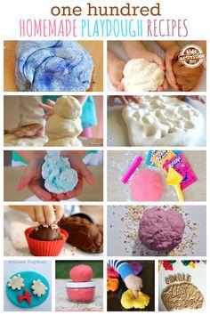100 Homemade Play Dough Recipes - Kids Activities Blog