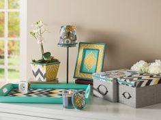 Refresh and Reenergize Your Decor with Fabric Mod Podge and your favorite fabrics!