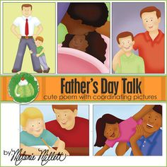 FATHER'S DAY Primary TALK - Downloadable File